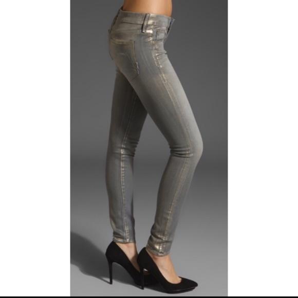 MOTHER Denim - MOTHER The looker golden nuggets jeans
